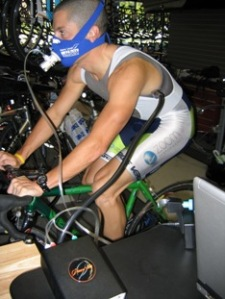 Another Zoom Performance Athlete completing his VO2 Max test.