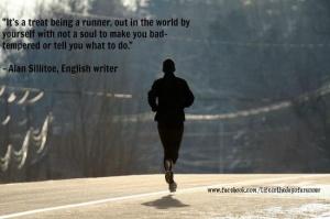 Run alone