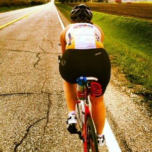 24.25 mile bike ride in 90 minutes on Monday afternoon. It was a PERFECT day for being outside!!