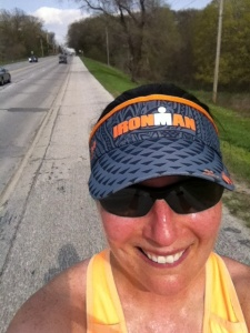 """11 mile run Tuesday evening at 4:20 pm for 1:38:48...I had 8 hill repeats in the first 6 miles on 13th street hill and ran the last 5 miles as a """"cool down"""" with Team 12.4"""