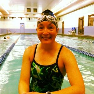 BONUS WORKOUT!!! Friday morning I decided to get up and swim at 5 am, even though it wasn't a scheduled workout. I swam 2000 yards in 45 minutes completing the Drills and 50s swim. It was a great way to start my day!!