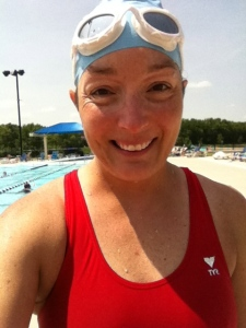 I went to Furman Aquatic Center and swam 2660 yards on the short end of the pool (23.75 yard distance for one length).  When I got done with my swim, I decided to try water walking.   The Lazy River was open for water walking and while some people were walking with the current, I wanted more of a challenge and instead walked with those people walking against the current for 30 minutes.  I really enjoyed the water walking as a different way to keep moving!!