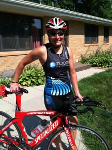 After yesterday's century ride, I was anticipating a sore bum when I donned Mojo for my brick workout, but I was pleasantly surprised...No sore bum, legs felt GREAT and I was strong and able to push forward at a surprising speed (especially into the headwind).  Bike:  average speed was 17.5 mph for 25 miles...Run: 9:18 average pace for 5 miles.