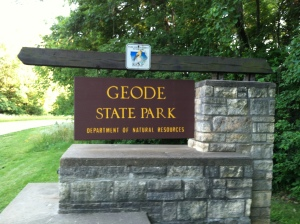 Welcome to Geode State Park...