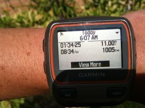 Beautiful Saturday morning run complete!!