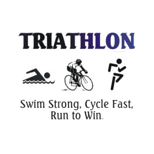 swim strong, cycle fast, run to win