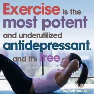 exercise antidepressant