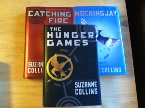 "While I've already read this series, I decided to reread it since the ""Catching Fire"" movie is going to be coming out soon.  A good series of books that doesn't require a lot of focus."