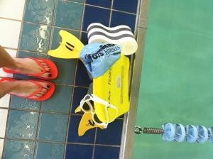 2100 yard swim at 6 pm