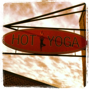 One hour of Hot Yoga at 4 pm