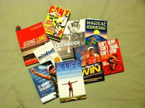 Some of my motivational and inspiring reads...