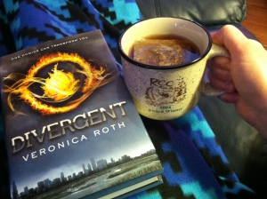 Taking 30 minutes to snuggle up under a cozy blanket with a good book and a cup of hot tea.