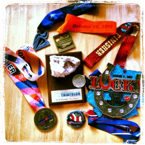 Successful 2013 = 6 medals and 1 trophy