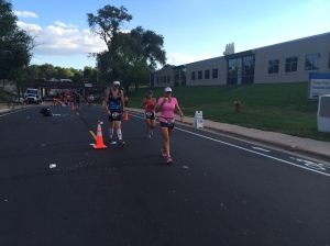 I'm behind the gal in pink and Ryan is in the Zoom kit on the left.  Photo courtesy of Lora Bierbaum