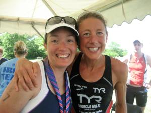 Chrissie and Me IM Kansas 70.3