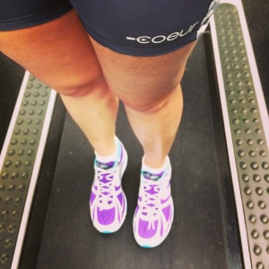 Giving my Coeur kit and new Newtons some #runlove