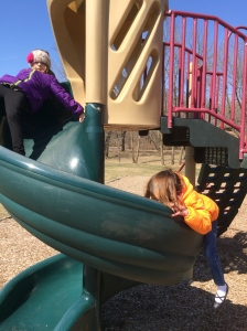 Fun with my nieces at the park