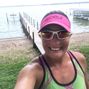 Finishing up a 10+ mile run along Lake Okoboji...so peaceful!!