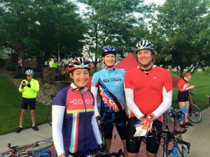 We are ready to ride the Tour de Cure Cedar Rapids!!