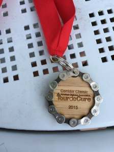 Pretty cool finisher's medal.