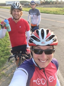 30 miles into our 115 mile bike ride.