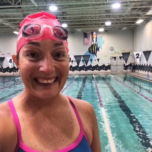 Super happy with my swim workout at the Mulberry Pool in Fort Collins.