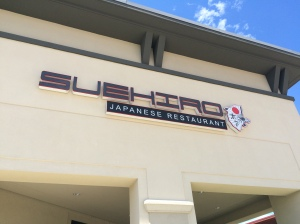 Suehiro was an AMAZING sushi bar! Thanks to Kuby for the suggestion!!