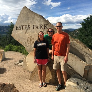 We made it to Estes Park!!