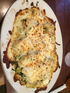This was my Mediterranean Pizza...Yummy!!