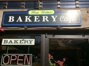 Blue Water Bakery Cafe...YUMMY!!