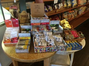 Mary's Market has lots of sports nutrition for cyclists to chose from.