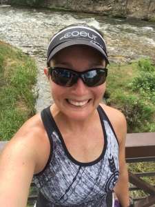 12 happy miles at 7500+ feet elevation brought a huge smile to my face!!