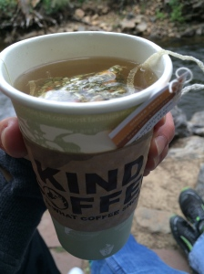 Ginger Twist Hot Tea from Kind Coffee...mmmmmmm