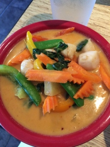 Thai curry = da bomb!!