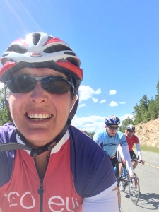 Riding the Peak to Peak Highway in Colorado