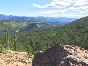 A gorgeous view of RMNP!