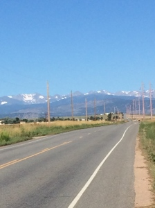 On Lookout Road...what a beautiful view of the mountains!!