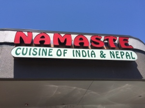 What a perfect name for an Indian restaurant!!