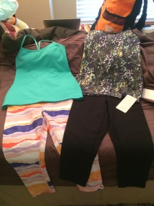 Lululemon...thanks for my free tank (the one on the left) and your amazing workout clothes!!