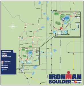 Ironman Boulder Bike Course