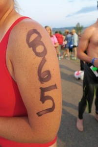 Body marking complete...time to race!!