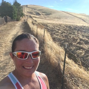 Running up Mt. Diablo in California