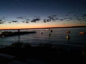 Ironman Wisconsin Race morning...who is ready to swim?!?!?!