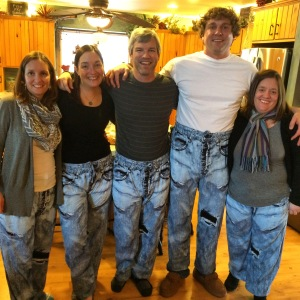 Grandma Annie continues to show up at Christmas and surprise us all with her awesomeness...Our hideous pajama pants were a family favorite this year!