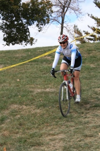 Having fun at a cyclocross race!!