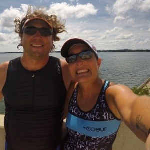 This is what happy looks like after a successful Ironman Wisconsin training camp!