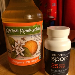 So grateful to Karma Kombucha and Sound Probiotics for keeping me healthy while I train hard and start a new school year!