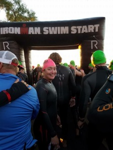 Ironman Wisconsin race day! Photo credit: Doree Harding