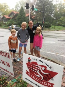 Spectating the IMT Des Moines Marathon!