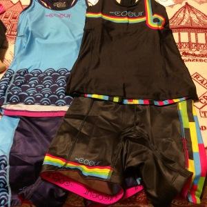 Fun new Coeur Sports gear! #stylishspeed